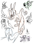 BACK-IN-THE-GROOVE Scribbles by dogatemyshrooms