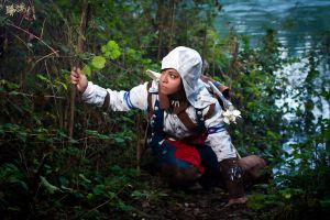 Connor Kenway : Fight for freedom by AxelTakahashiVIII