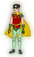 Jason Todd as Robin by VoteDave