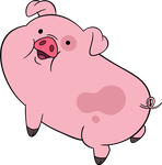 Gravity Falls - Waddles by TimeImpact