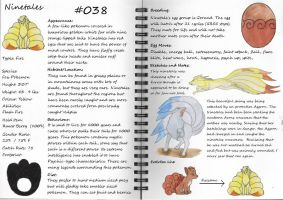 Ninetales Pokemon Guide by pandemoniumfire