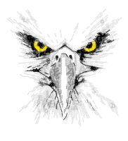 Eagle Typography2 by yongX13