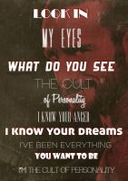 theme lyric poster COP  cm punk with pic POSTER sm by lovelives4ever