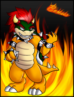 Bowser by Yandechi
