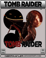 TOMB RAIDER ICON NEW STYLE by Ni8crawler