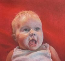 Baby in Soft Pastels by thecory