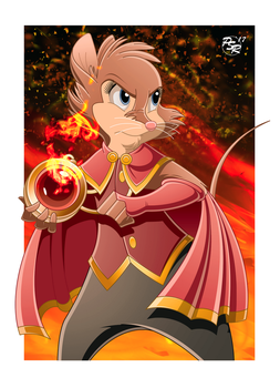 Brisby: Warrior of the Flames by BrisbyBraveheart