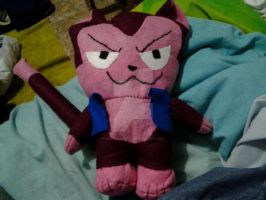 my lector plush 100% fairy tail by miguel-senpai