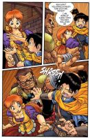 Fantasy comic pg2 color by Dogsupreme