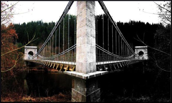 The Bridge through the time by Tullamore