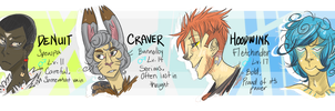 Pokemon Y Team - October 13, 2013 by MissDrawsAlot