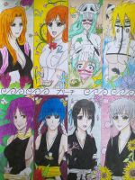 Bleach - My 8 faves Females by Jusace