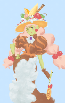 Sweets Witch by artkitty