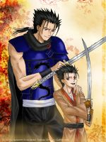 Tsubasa-Father and son by syren007
