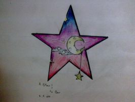 a star. by THEfuckingPENGUIN