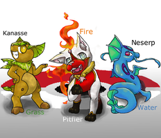 Choose Your Starter! (Tezilox Region) by The-Universe-of-Nya