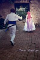 Euphemia and Suzaku: Please, dont go... by NunnallyLol