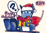 Happy Holidays 2014! by Seundeux