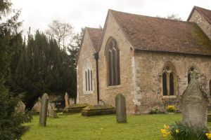 12th Century Church Stock 2 by Sheiabah-Stock