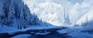 Ice Temple by andreasrocha