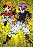 Pan and Trunks by VitorViana