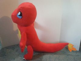 Charmander by cosmiccrittercrafts