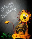 Birthday card by Dea-Art