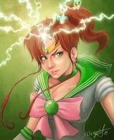 Sailor Jupiter by ChantDeLaCorneille