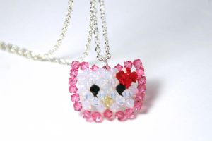 Hello Kitty Necklace by kokito85