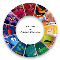 Color Wheel Meme by Piranhartist