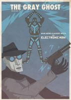 The Gray Ghost - The Electronic Man by countevil