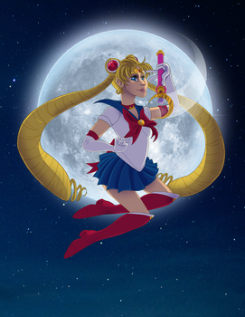The One Called Sailor Moon by NagoshiAshumari