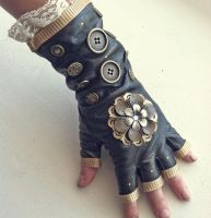 Lacey Steampunk Glove by NBetween