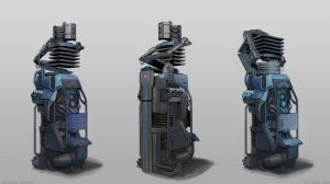 sci-fi generator by Or1s