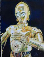 Disney's Star Wars C-3P0 by RachelRie