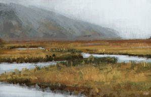 Marsh Study by jontorresart