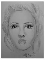 Ellie Goulding by Laura-The-Drawer