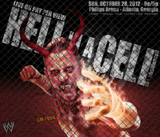 WWE Hell in the Cell - CM Punk by TarghanM
