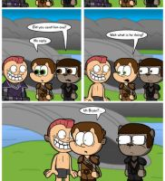 Elder Scrolls Online: I NEED AN ADULT by DairyBoyComics