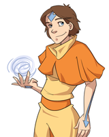 Airbender! by pai-draws