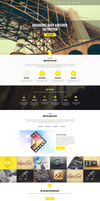 Freebie - Smak PSD Template by GraphBerry