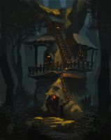 Treehouse by Raph04art