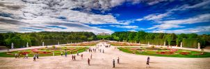 Great Parterre Garden at Schonbrunn Palace by imladris517