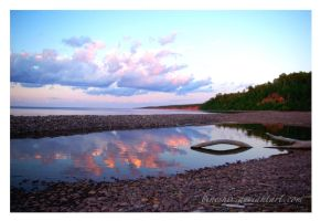 Reflections of Lake Superior by bineshii