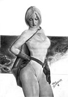 PowerGirl Art by Rafaschneider2016art