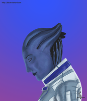 Liara T'Soni by jlel