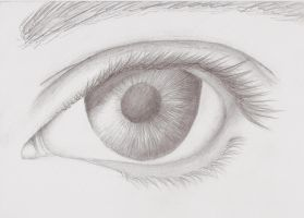 Mark Crilley Realism Eye Attempt by foreverstrawberries