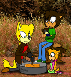 Family Campout by oOSonicYashaOo