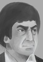 Patrick Troughton 2 by Hokutochan15