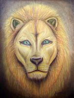 Lion head Digital by JCaceres